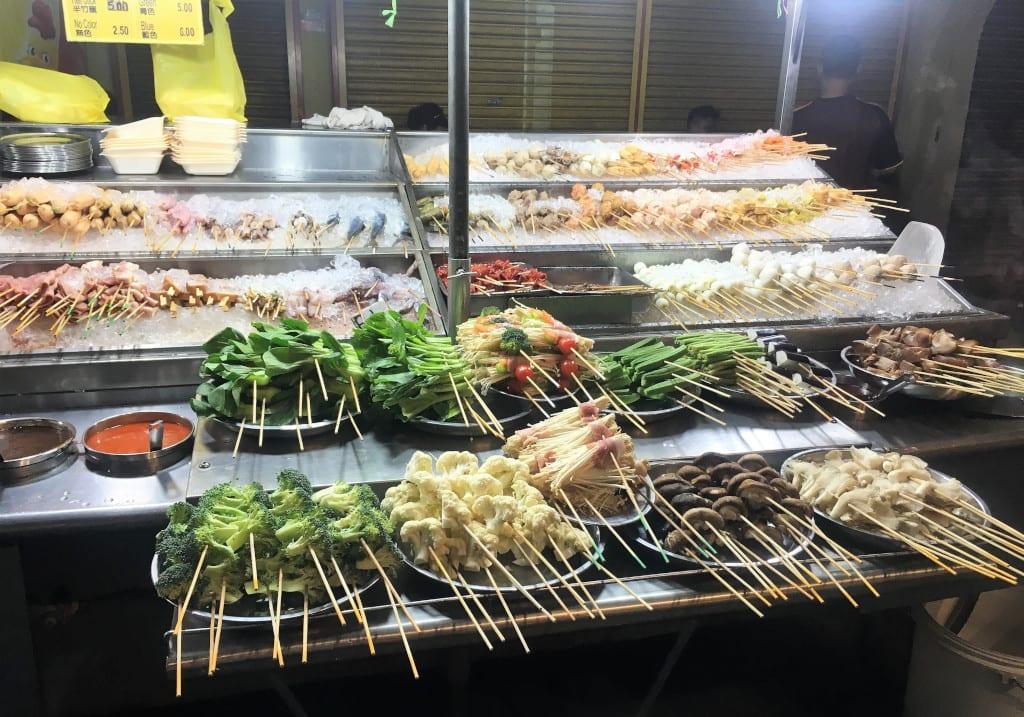 Malaysia travel Kuala Lumpur street food