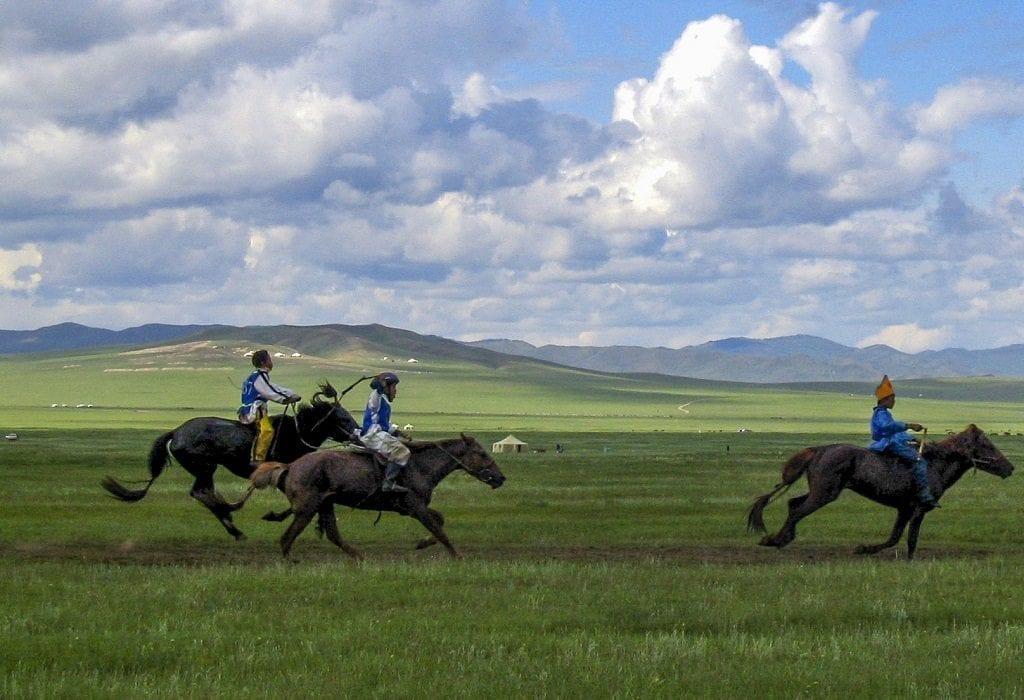 Horse racing Mongolia