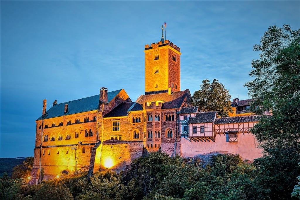 Wartburg Castle in Eisenach, c. Gregor Lengler