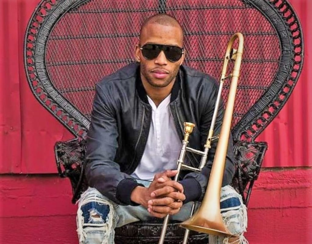 Trombone Shorty & Orleans Avenue, headlining Saturday night at the 24th Annual Mammoth Festival of Beers & Bluesapalooza, August 1-4