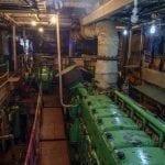 Paddlewheel steamer