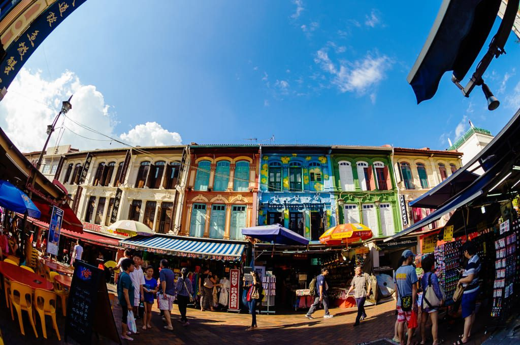Colourful Shophouses of Chinatown
