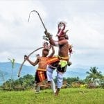 Whip Fighting Symbolises Life for Manggarai Flores