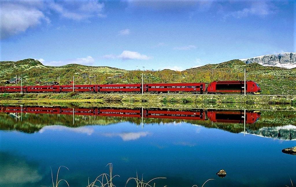 NSB The Bergen Railway Rhune Fossum c. Rune Fossum