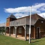 The pavilion at Hambledon