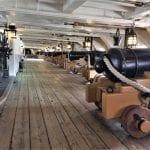 Below deck on HMS Victory