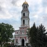 Largest bell tower in Moldova