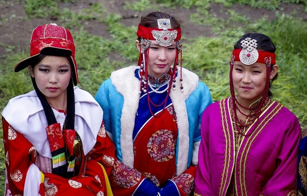 Beauty Queen participants Mongolia