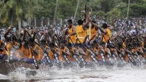 Nehru Trophy Boat Race Kerala, India