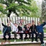 Our motley crew in Chisinau