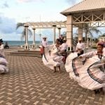 Traditional dance at La Ceiba