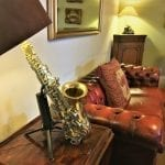The saxophone lamp