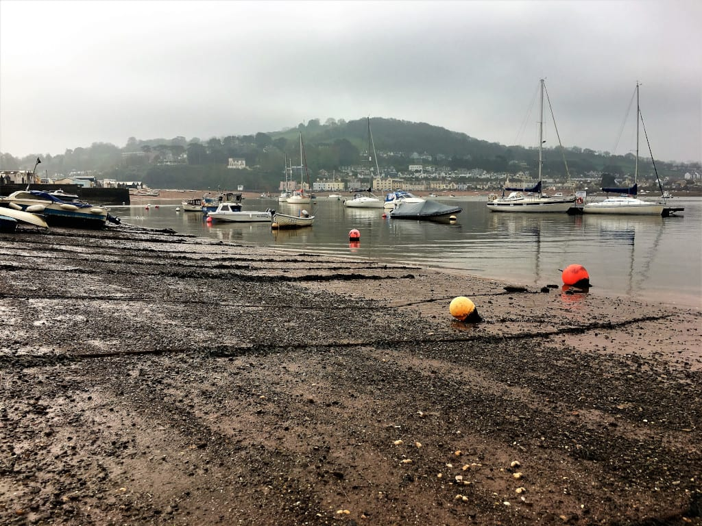 The harbour at Teignmouth - the perfect location for crab sandwiches