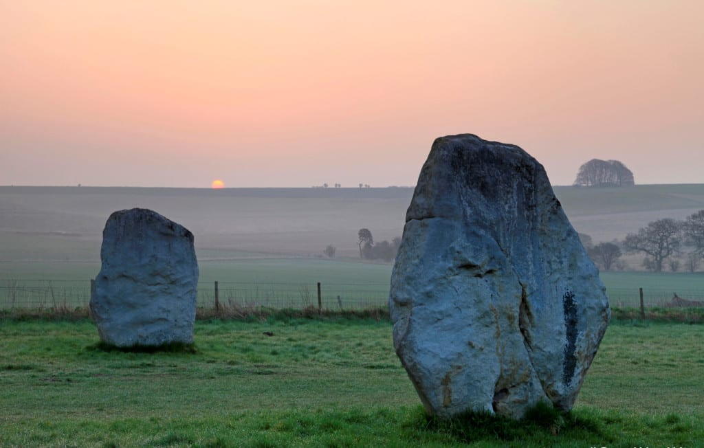 Stonehene is not the only rock in Wiltshire - The Avenue, Avebury by Chris Lock