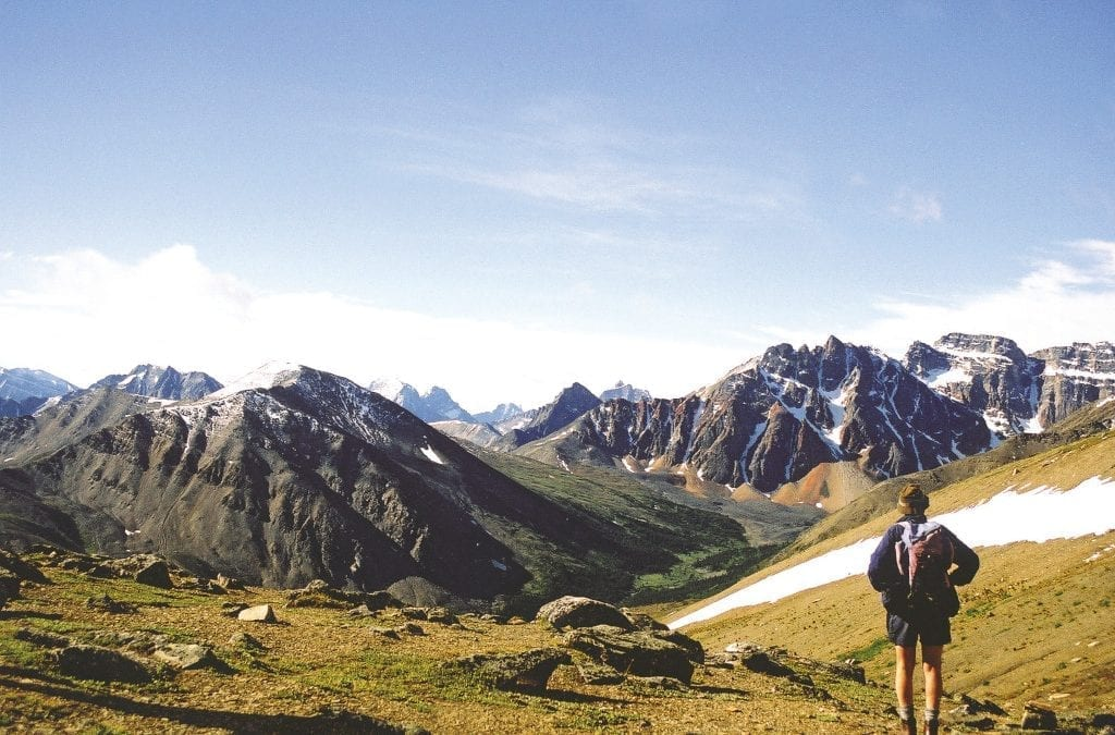 Celebrate Canada Day Walking in the Rockies