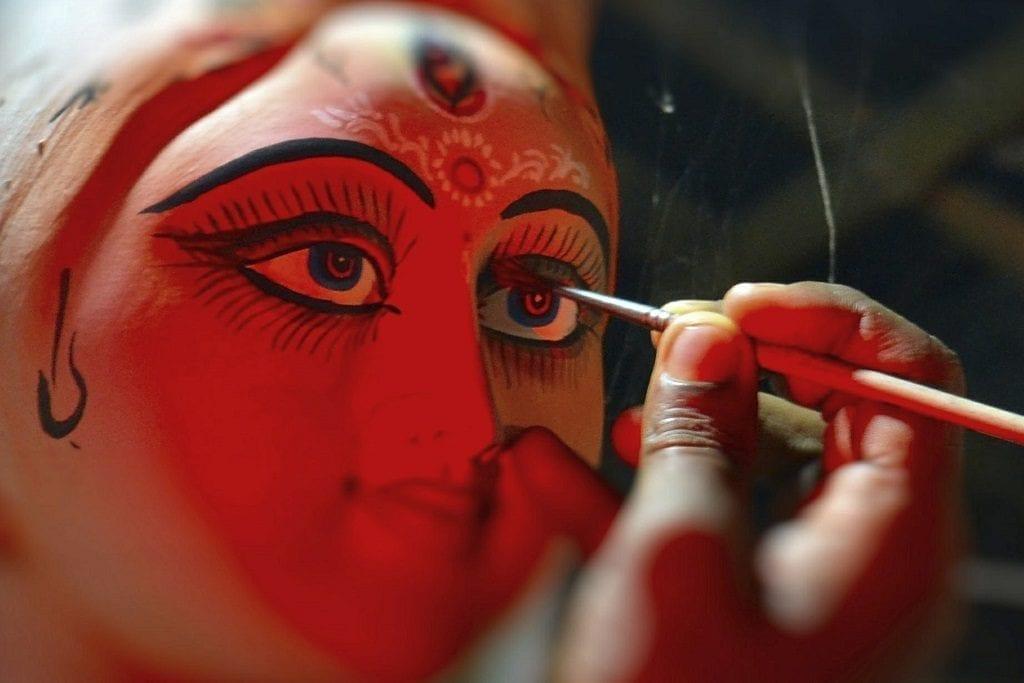 Chokkhu Daan ritual, India