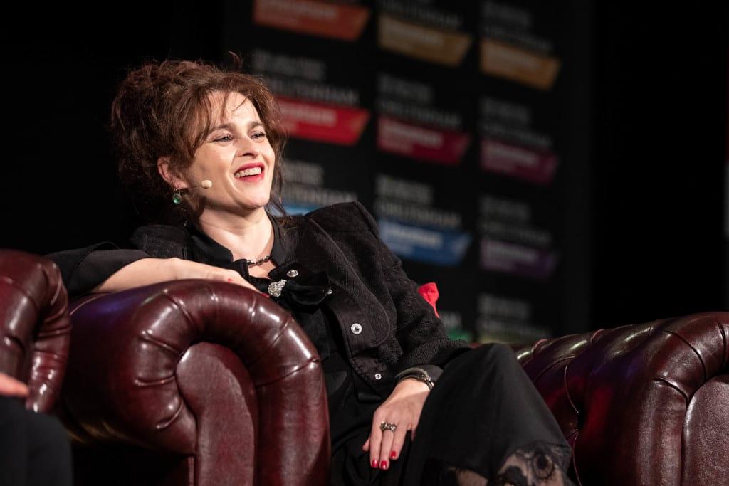 Helena Bonham-Carter at the 2019 Cheltenham Festival
