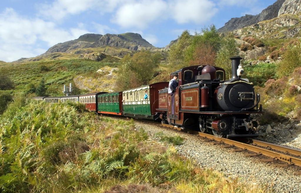 Why not take a ride on the Ffestiniog Railway?
