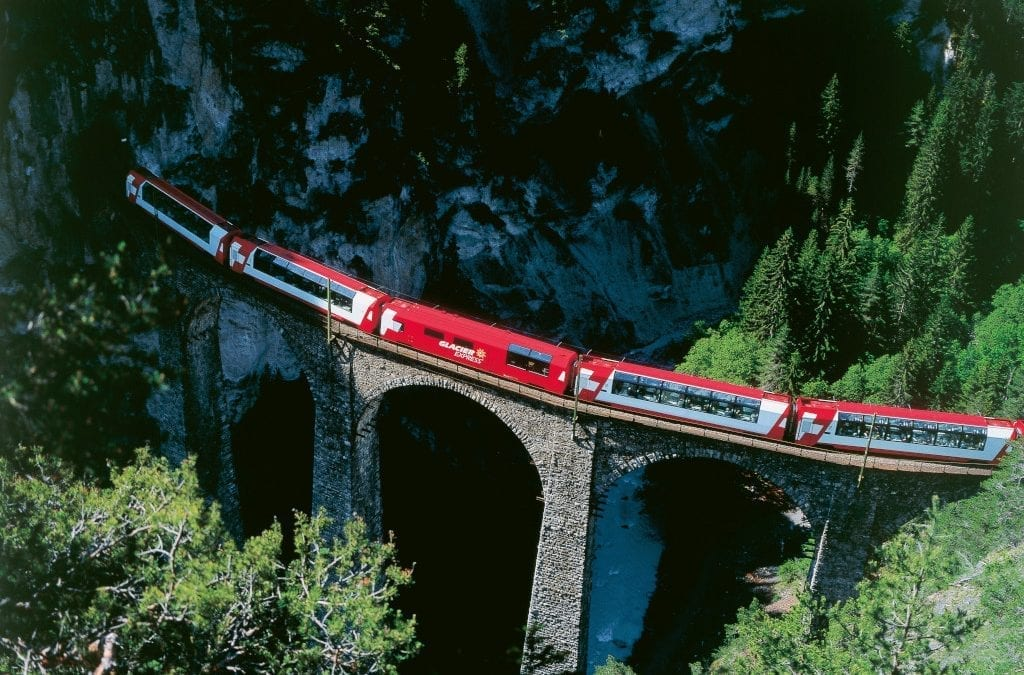 Ride the Glacier Express in Excellence Class
