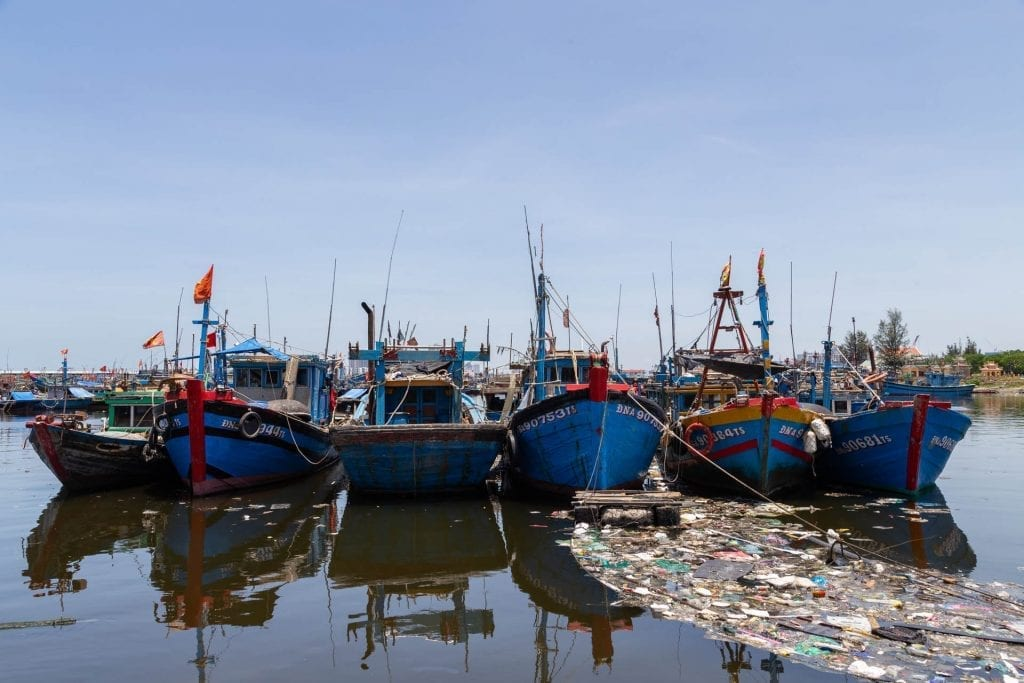 Da Nang fishing port