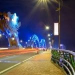 The Dragon Bridge in Da Nang