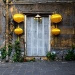 Lanterns adorn almost every doorway in Hoi An ancient town