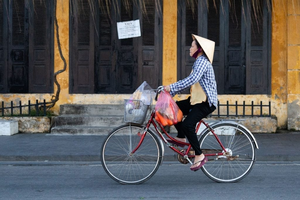 Early morning in Hoi An ancient town