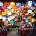 Lanterns for sale in Hoi An night market