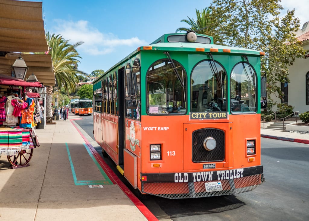 Old Town Trolley Bus