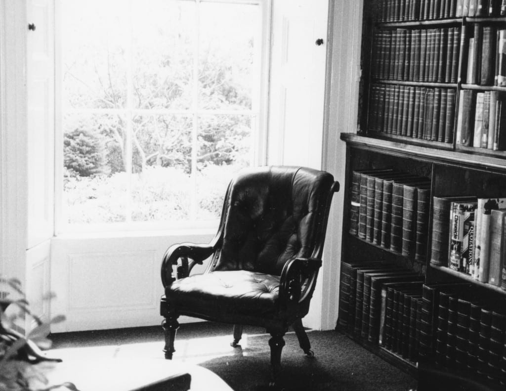 The Reading Room at the Morrab Library