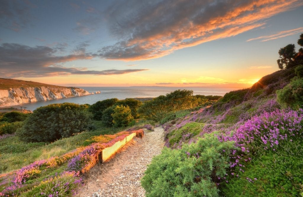 UNESCO Biosophere Reserve Isle of Wight Needles