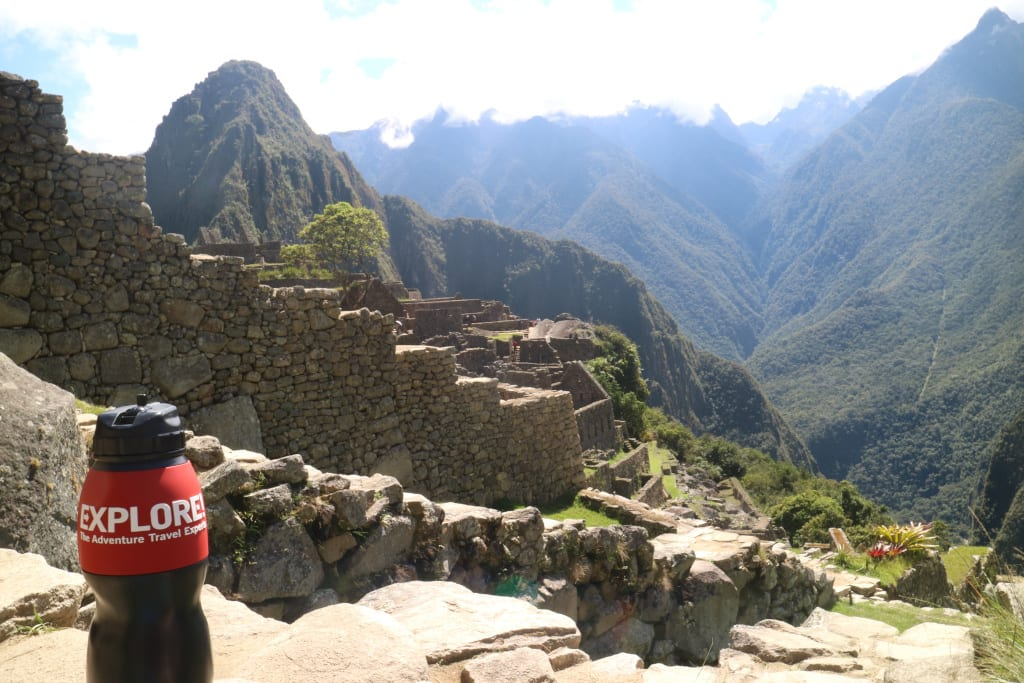 Water to Go Bottle at Machu Picchu