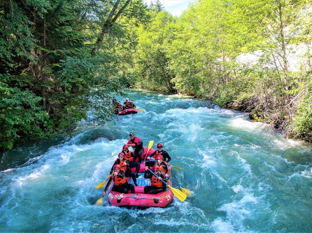 Whitewater Rafting (Wedge Rafting)