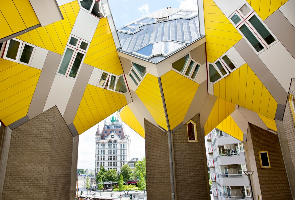 More cube houses, Rotterdam