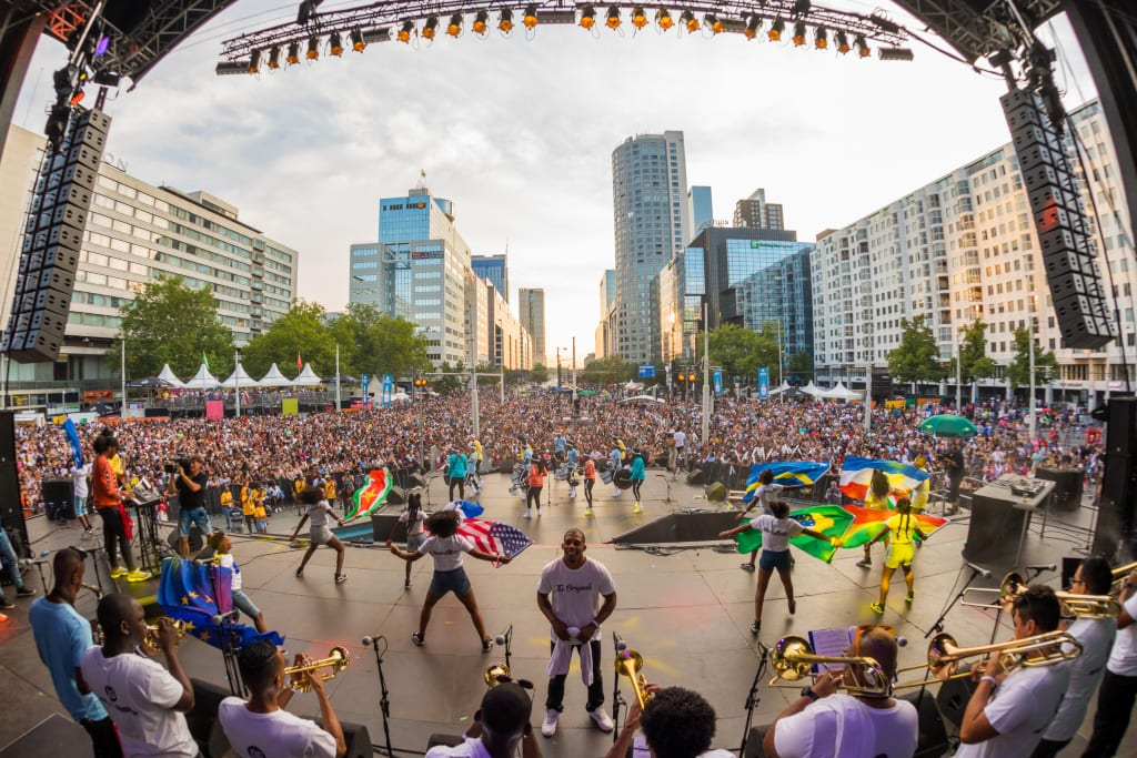 Rotterdam Carnival Battle of the Drums
