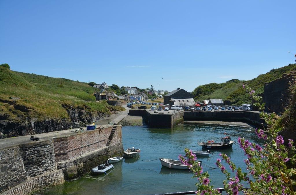 Visit West Wales' Beautiful Blue Lagoon