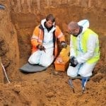 CWGC Exhumation Officers Paul Bird and Steve Arnold (2)