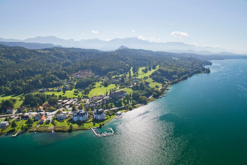 The Original FX Mayr Clinic, nestling on the shores of the beautiful Lake Worthersee