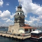 Maiden's Tower on Istanbul City Break boat trip