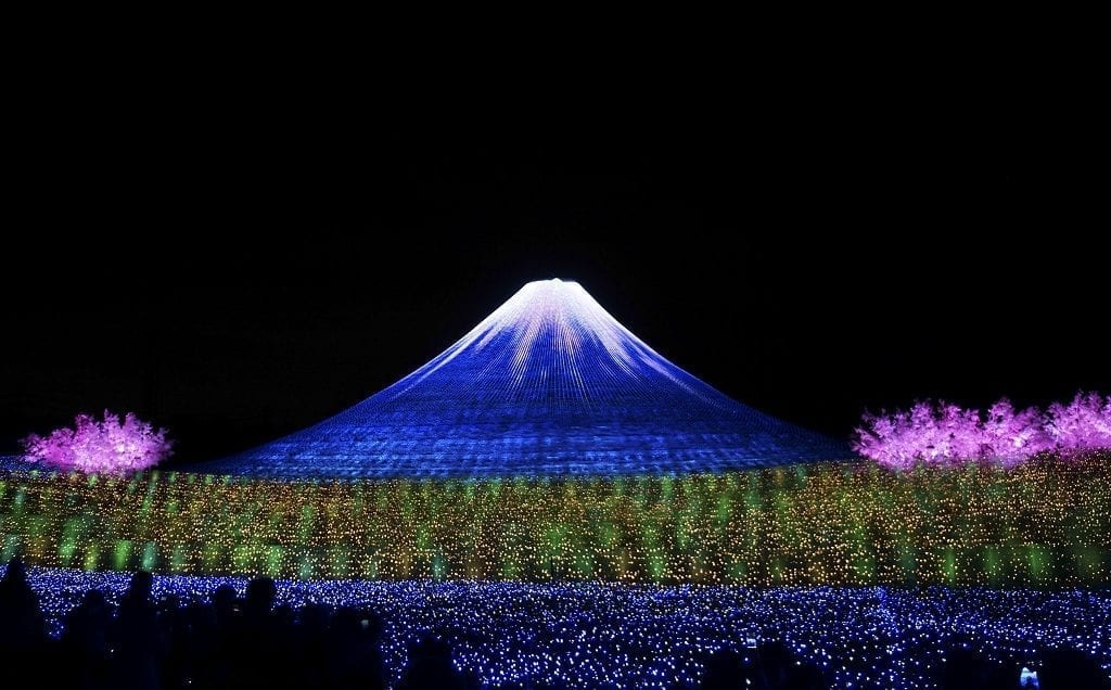 Nabana no Sato Light Festival Japan