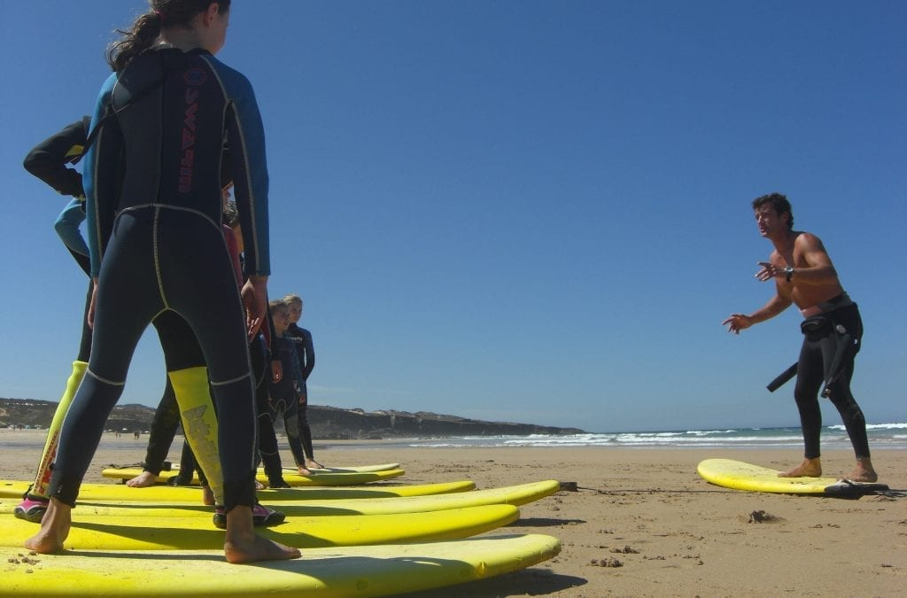 Surf's Up on the Alentejo Coast, Portugal