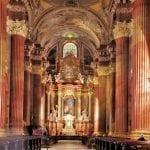 Inside the Jesuit Church, Poznan Poland, photo Andrzej Deja