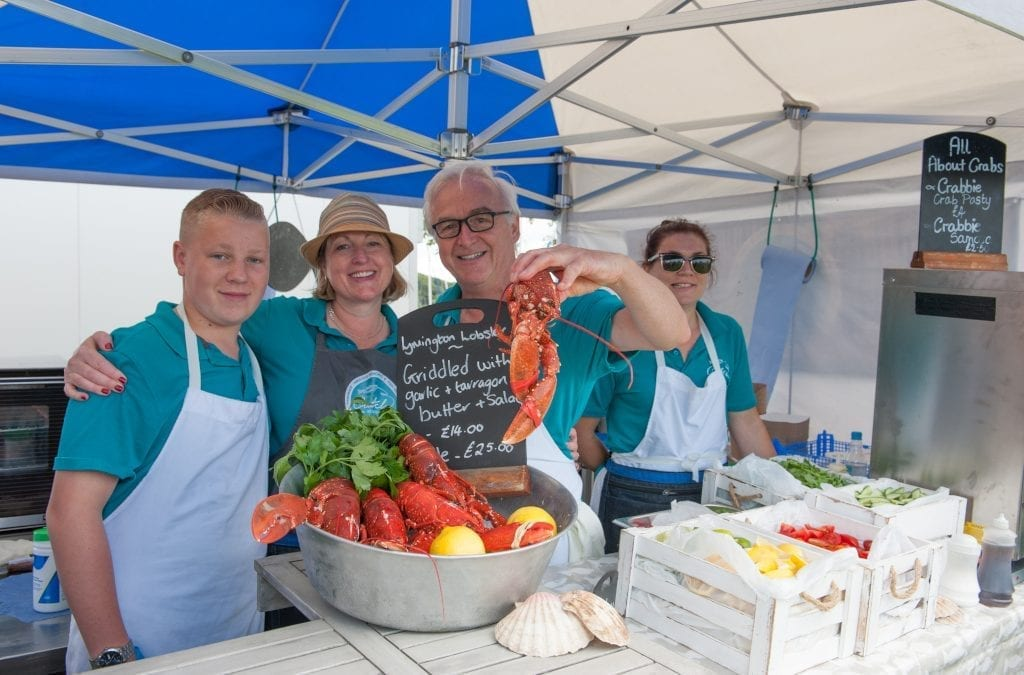 Lymington Seafood Festival 2019, New Forest