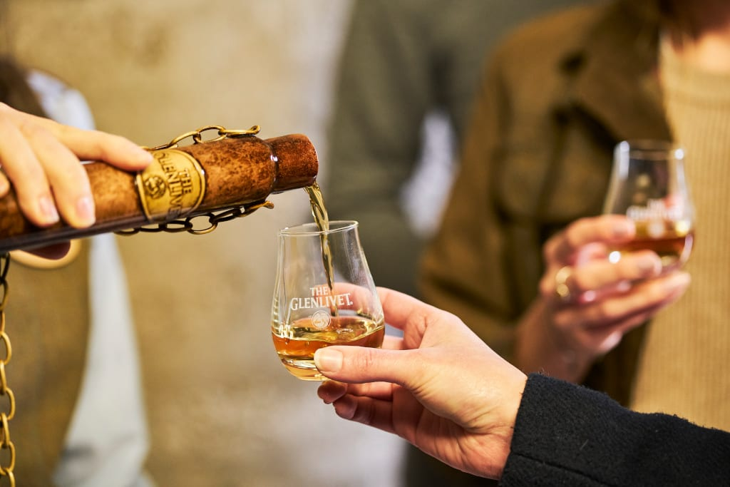 Speyside whisky tour Glenlivet Distillery