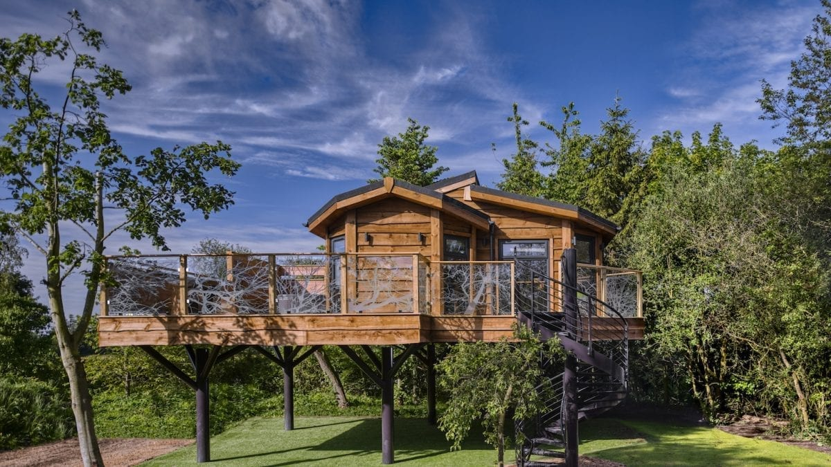Wolds Edge Treehouse Reaches New Heights