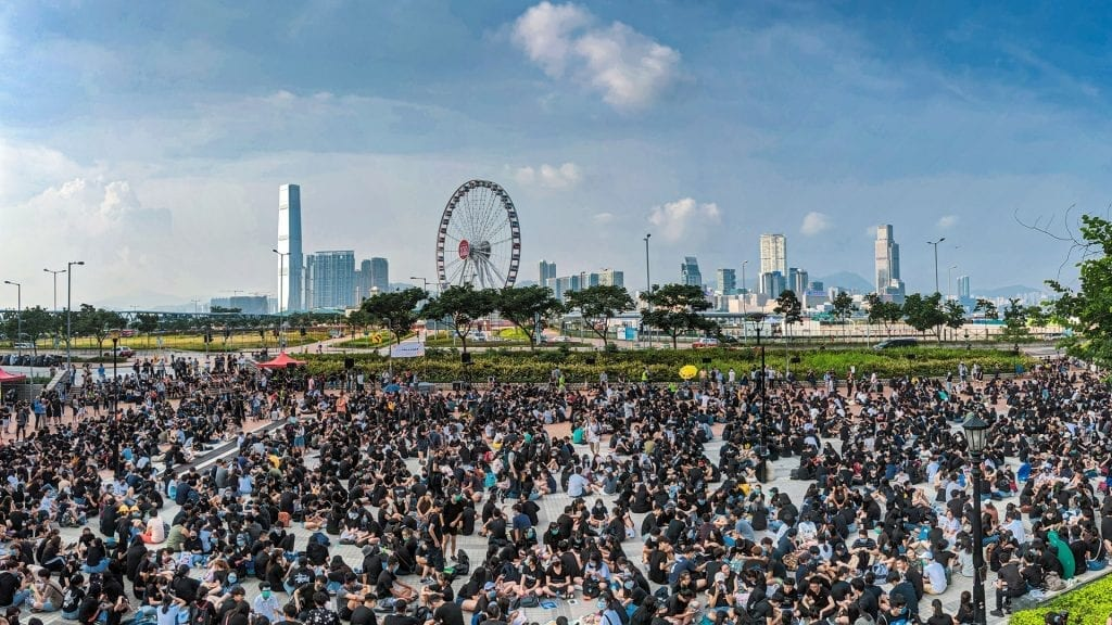 Hong Kong Protests on 8th August 2019