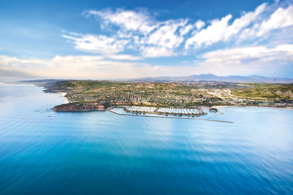 Aerial Map of Dana Point-