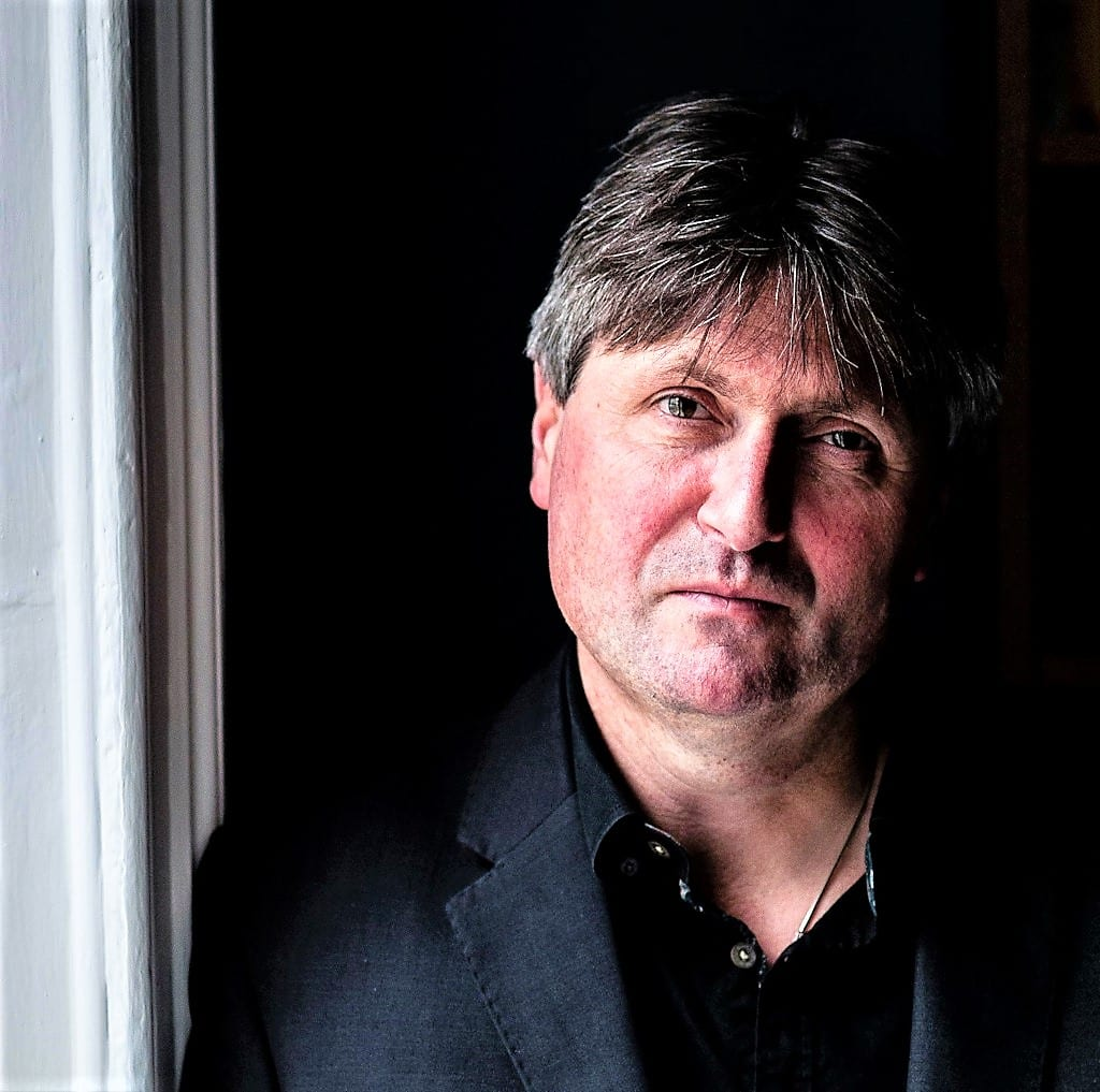 Poet Laurette, Simon Armitage, photo Peter James Millson