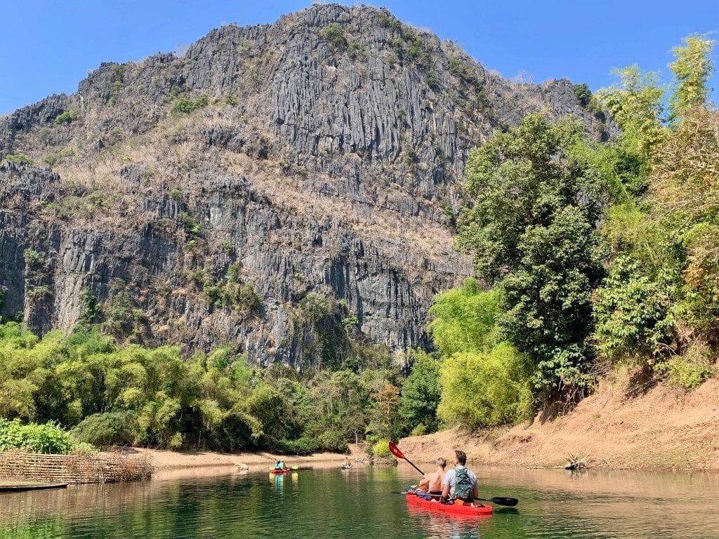 Laos kayak