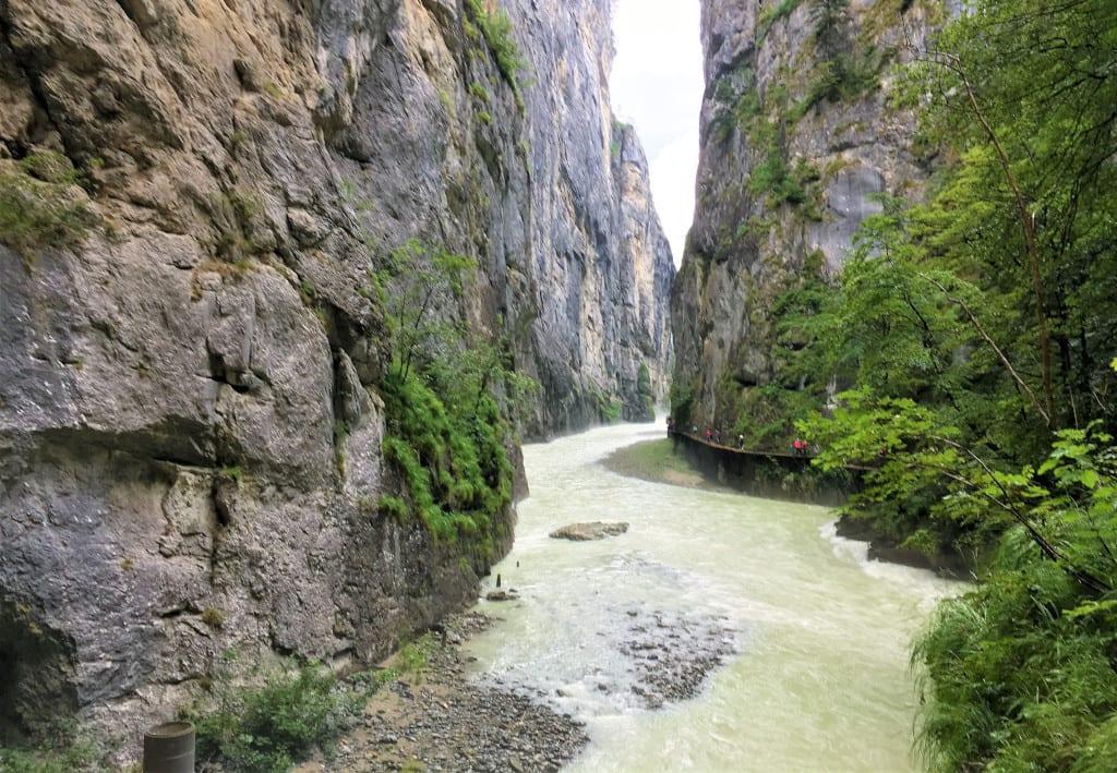 Aare George Jungfrau Swiss Alps